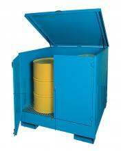 BAX404020G000 - Hordótároló szekrény 2 db hordó részére