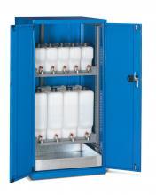 FAE805801 - STANDARD típusú olajtároló szekrény szárnyas ajtókkal kiegészítőkkel - DIM. MM W=717 D=750 H=1450