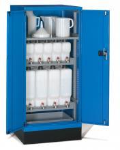 FAE805825 - STANDARD típusú olajtároló szekrény szárnyas ajtókkal kiegészítőkkel - DIM. MM W=717 D=750 H=1600