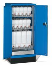 FAE805842 - STANDARD típusú olajtároló szekrény szárnyas ajtókkal kiegészítőkkel - DIM. MM W=717 D=750 H=1600