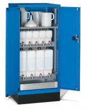 FAE805845 - STANDARD típusú olajtároló szekrény szárnyas ajtókkal kiegészítőkkel - DIM. MM W=717 D=750 H=1600