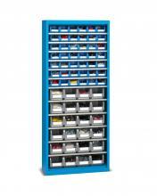 FAK206654 - PERFOM típusú szekrény tárolókkal ajtók nélkül - DIM. MM W=700 D=270 H=1655