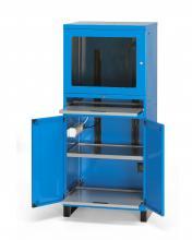 FAS160124 - FAS számítógép szekrény 1 ventilátorral 2 SCHUKO dugalj és 3 FR - DIM. MM W=717 D=635 H=1660